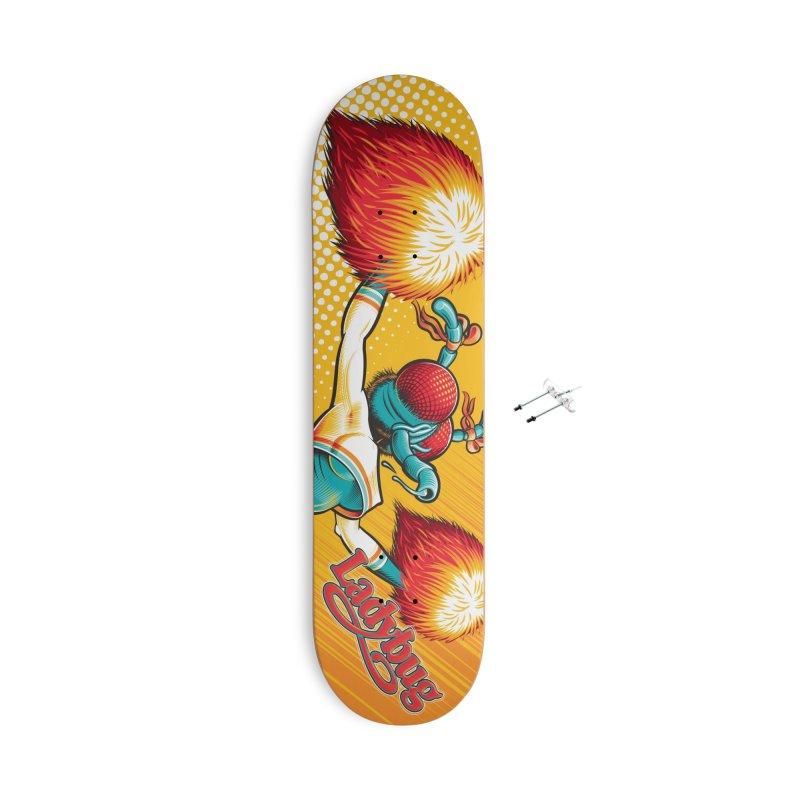 Ladyboard1 Accessories Skateboard by Leon's Artist Shop