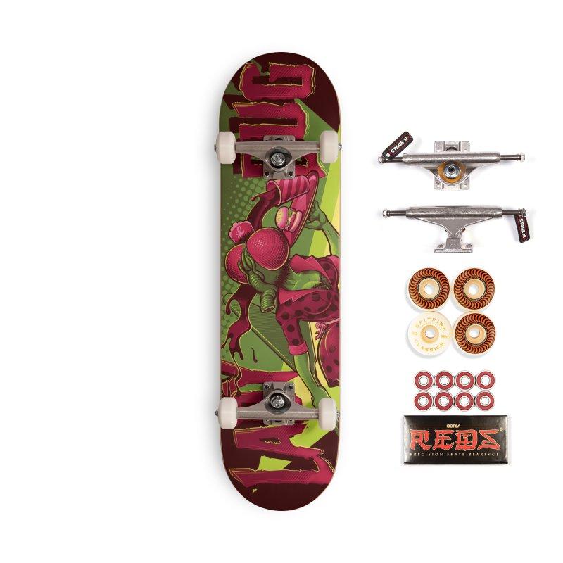 Ladyboard2 Accessories Skateboard by Leon's Artist Shop