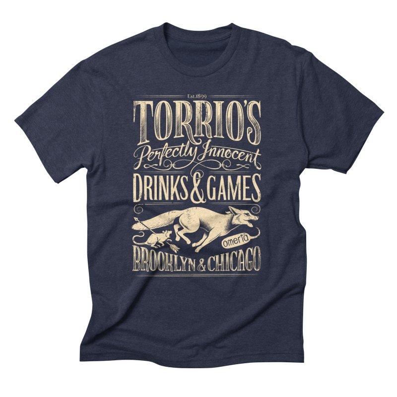 Speakeasy Men's Triblend T-Shirt by Leon's Artist Shop
