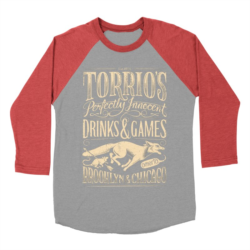 Speakeasy Men's Baseball Triblend T-Shirt by Leon's Artist Shop