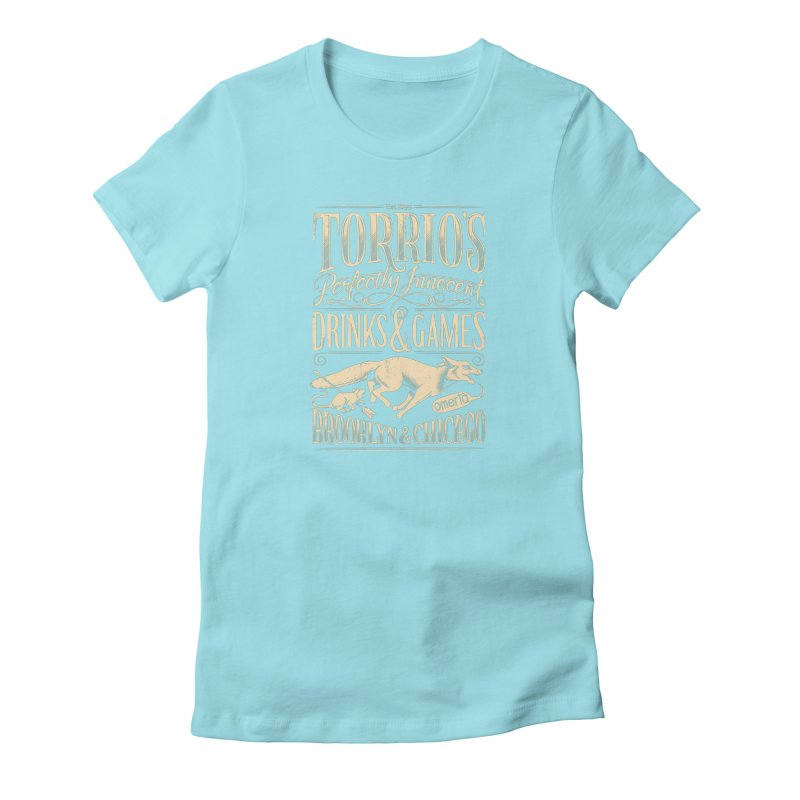 Speakeasy Women's T-Shirt by Leon's Artist Shop