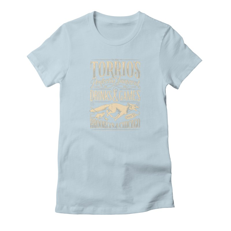 Speakeasy Women's T-Shirt by Leon's Artist Shop
