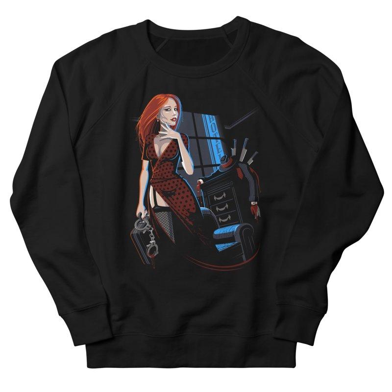 Honeypot Women's French Terry Sweatshirt by Leon's Artist Shop