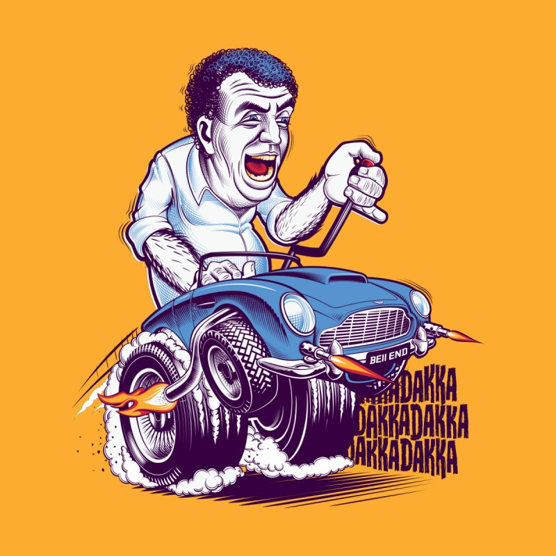 Clarkson Men's T-Shirt by Leon's Artist Shop