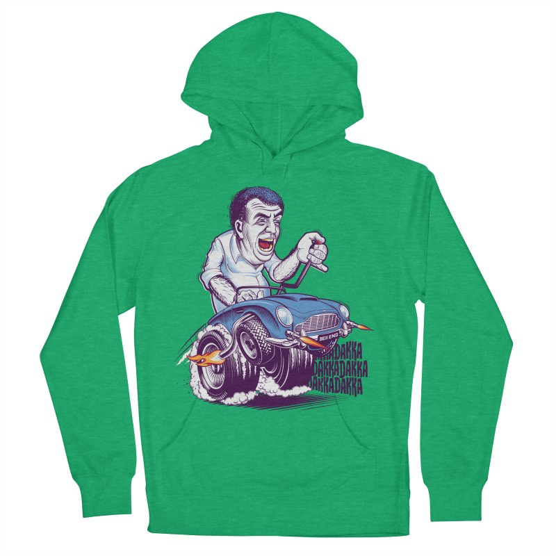 Clarkson Men's French Terry Pullover Hoody by Leon's Artist Shop