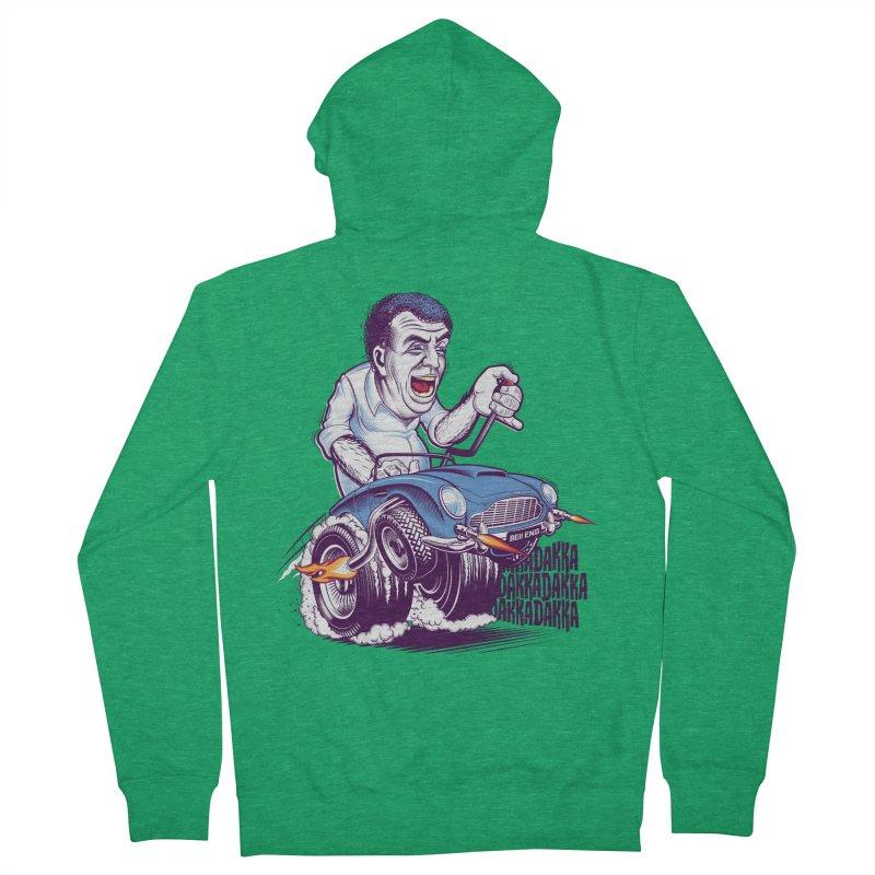 Clarkson Men's Zip-Up Hoody by Leon's Artist Shop