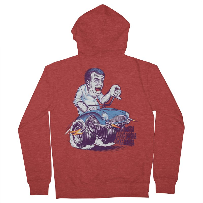 Clarkson Men's French Terry Zip-Up Hoody by Leon's Artist Shop
