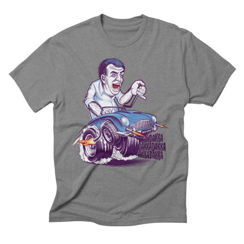 Clarkson Men's Triblend T-Shirt by Leon's Artist Shop