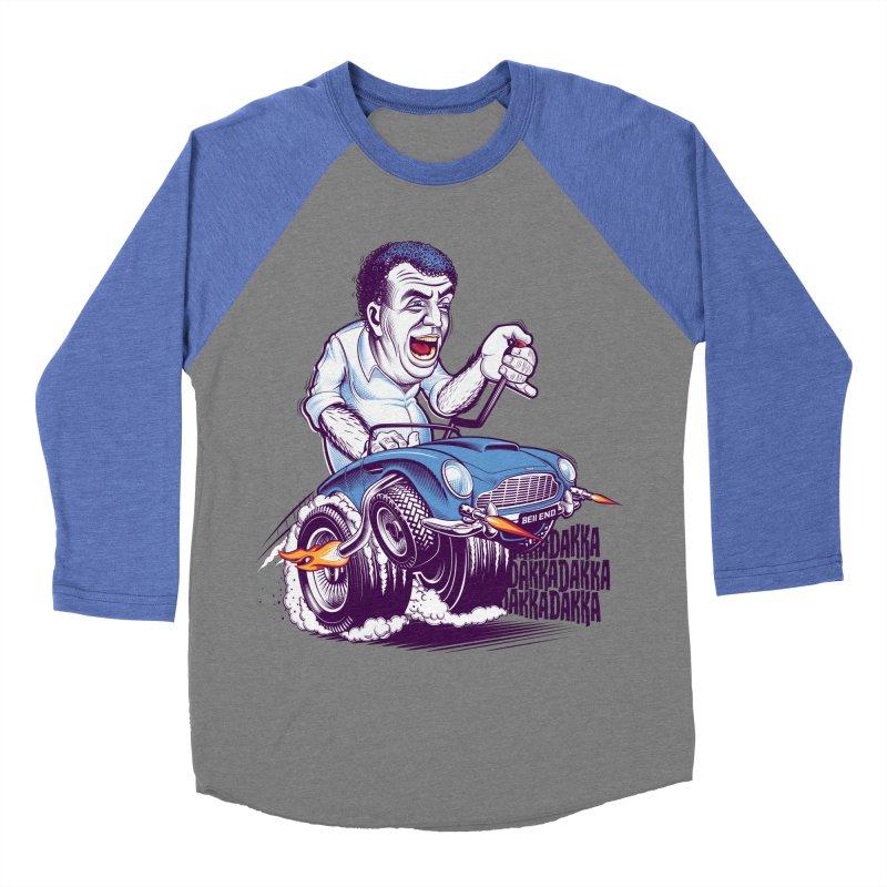 Clarkson Women's Baseball Triblend Longsleeve T-Shirt by Leon's Artist Shop