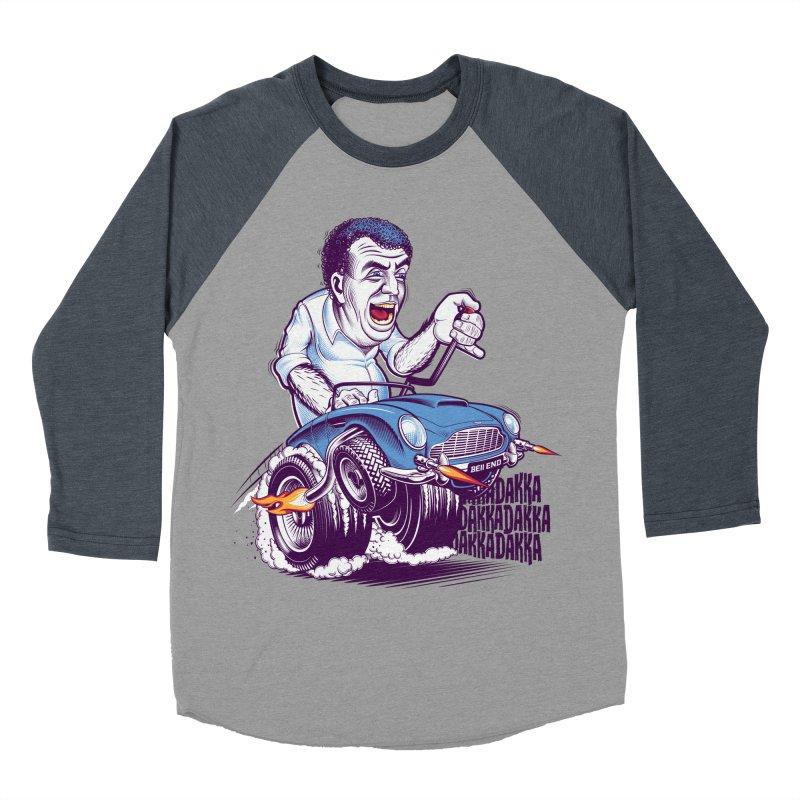 Clarkson Men's Baseball Triblend Longsleeve T-Shirt by Leon's Artist Shop