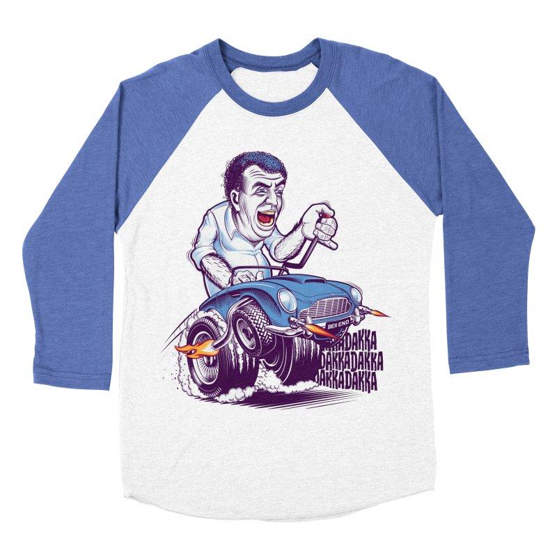 Clarkson Men's Baseball Triblend T-Shirt by Leon's Artist Shop