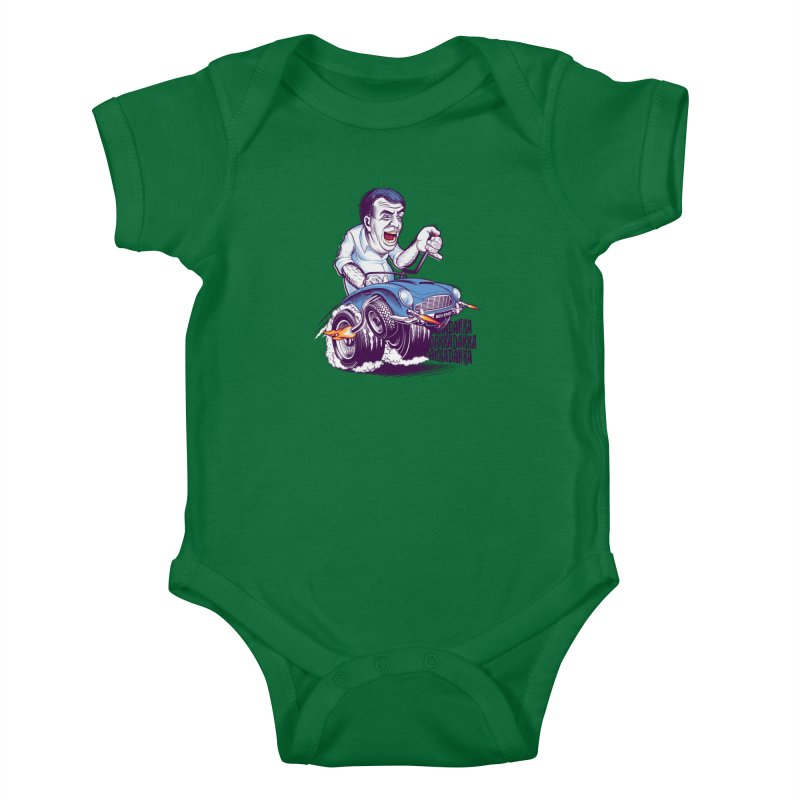 Clarkson Kids Baby Bodysuit by Leon's Artist Shop
