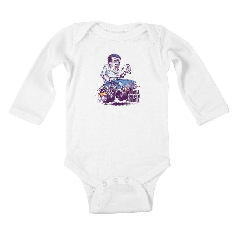 Clarkson Kids Baby Longsleeve Bodysuit by Leon's Artist Shop