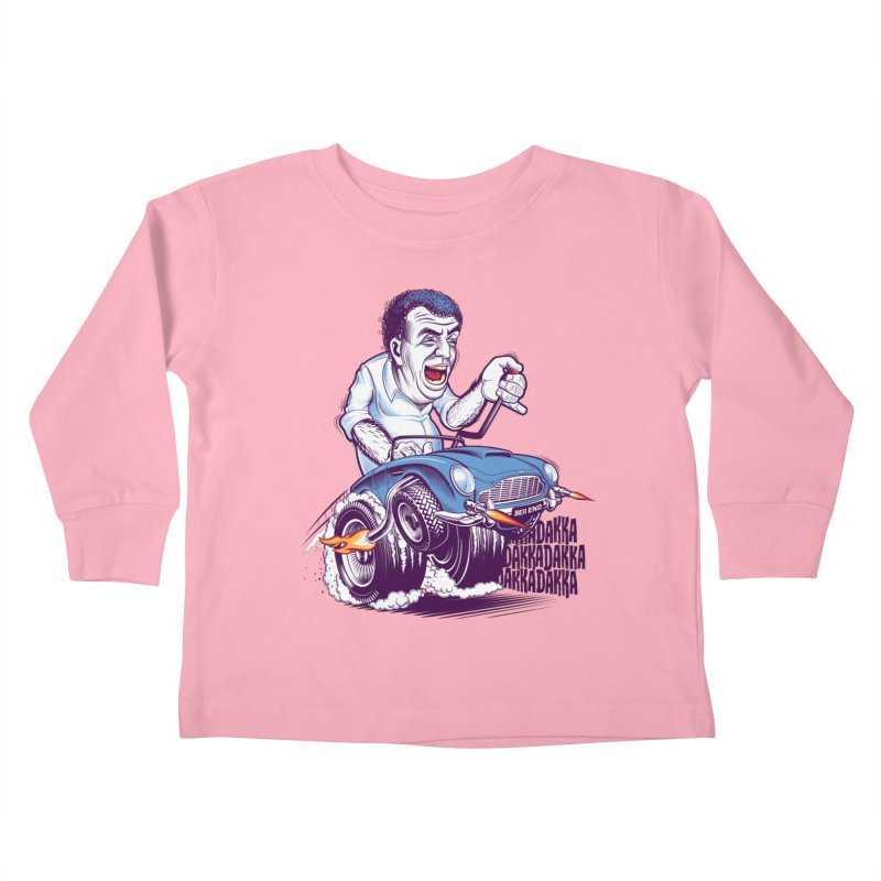 Clarkson Kids Toddler Longsleeve T-Shirt by Leon's Artist Shop