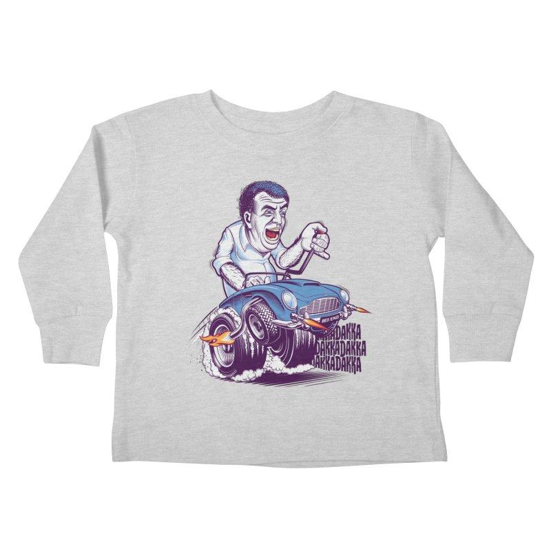 Clarkson Kids Toddler Longsleeve T-Shirt by Leon's Artist Shop