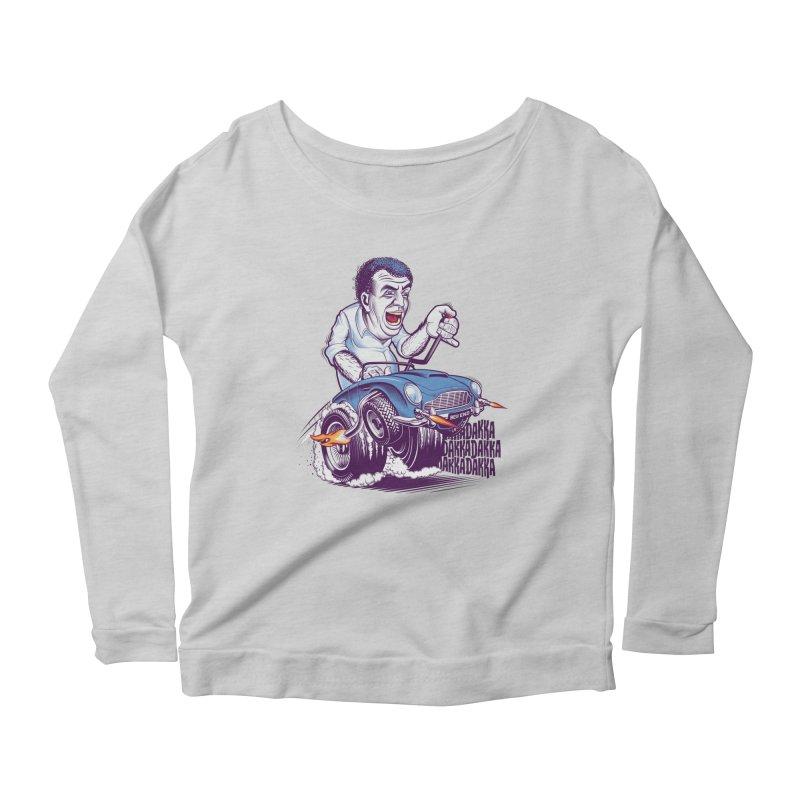 Clarkson Women's Scoop Neck Longsleeve T-Shirt by Leon's Artist Shop