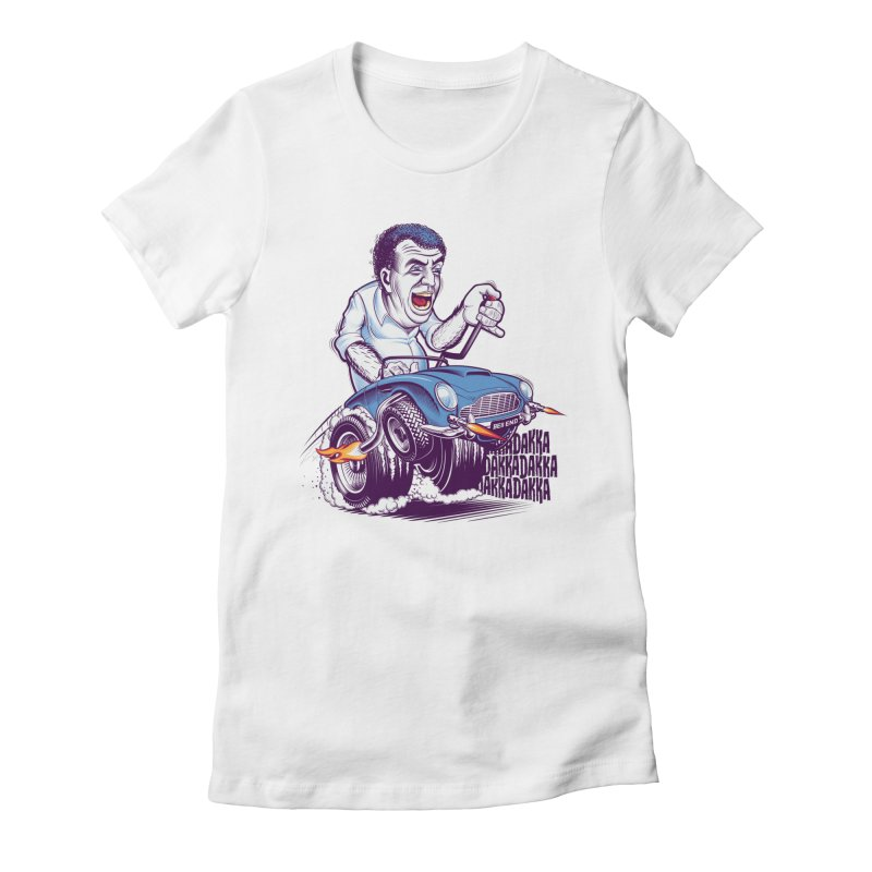 Clarkson Women's Fitted T-Shirt by Leon's Artist Shop