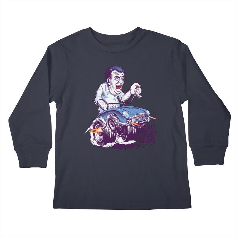 Clarkson Kids Longsleeve T-Shirt by Leon's Artist Shop