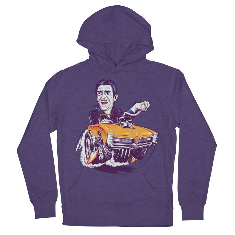 Hammond Men's French Terry Pullover Hoody by Leon's Artist Shop