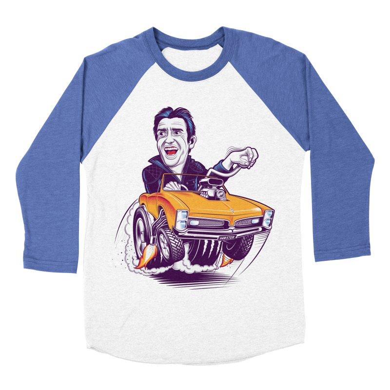Hammond Women's Baseball Triblend Longsleeve T-Shirt by Leon's Artist Shop