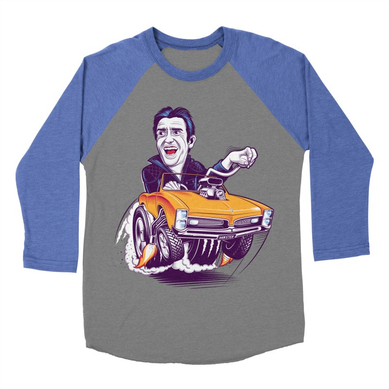 Hammond Men's Baseball Triblend T-Shirt by Leon's Artist Shop