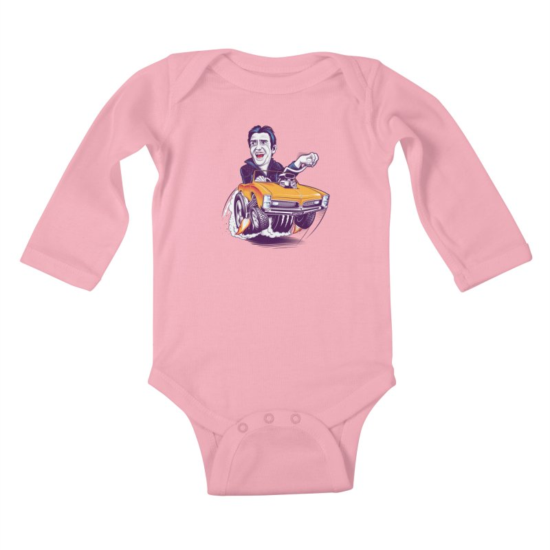 Hammond Kids Baby Longsleeve Bodysuit by Leon's Artist Shop