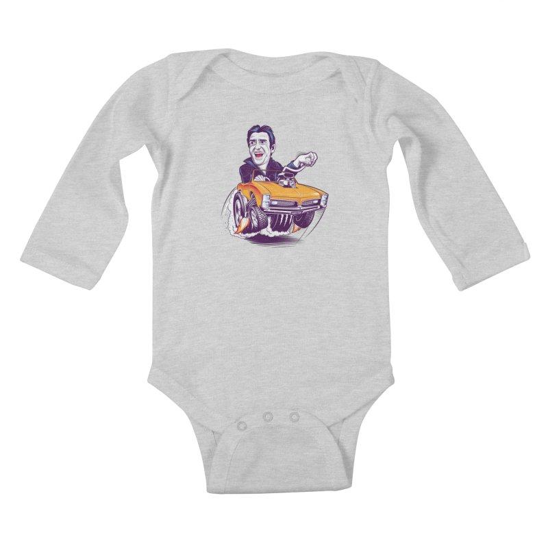 Hammond Kids Baby Longsleeve Bodysuit by Leon's Artist Shop