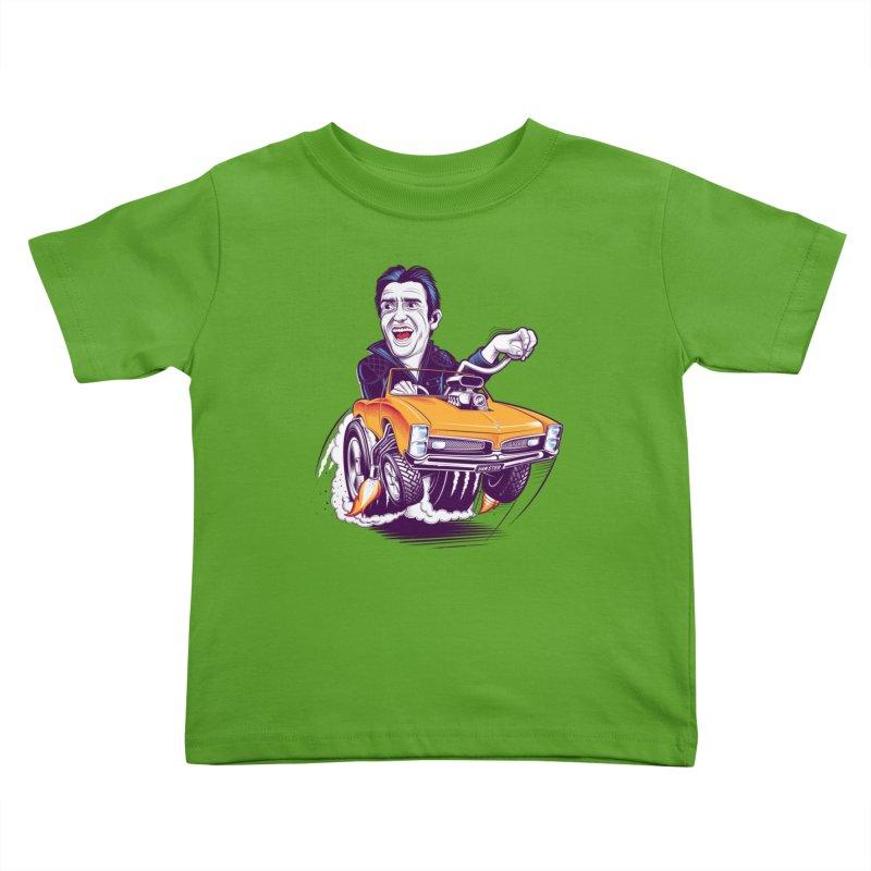 Hammond Kids Toddler T-Shirt by Leon's Artist Shop