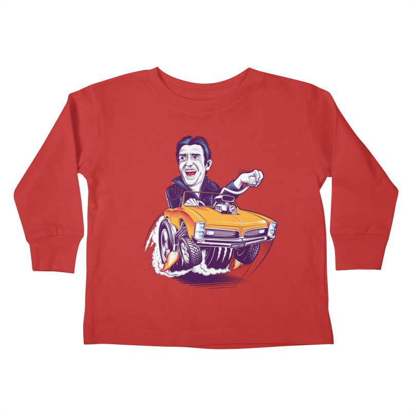 Hammond Kids Toddler Longsleeve T-Shirt by Leon's Artist Shop