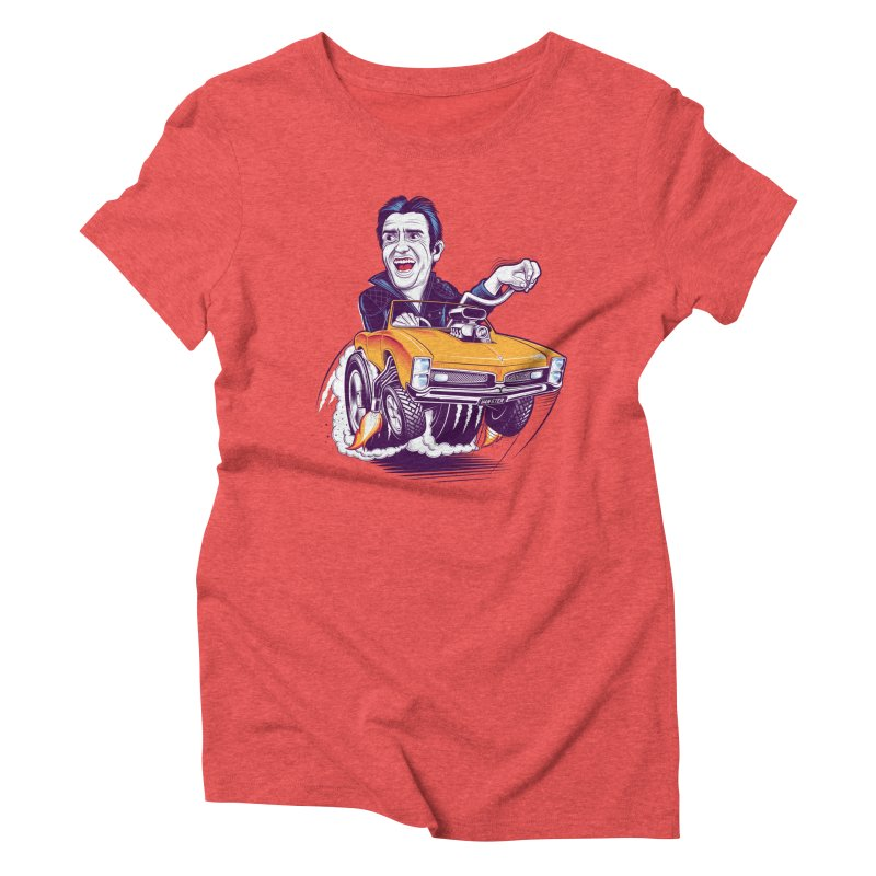 Hammond Women's Triblend T-Shirt by Leon's Artist Shop