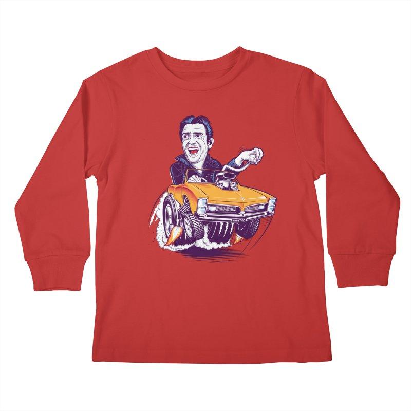 Hammond Kids Longsleeve T-Shirt by Leon's Artist Shop