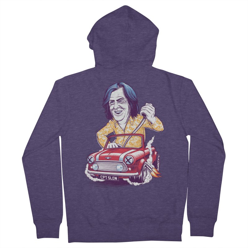 May Men's French Terry Zip-Up Hoody by Leon's Artist Shop