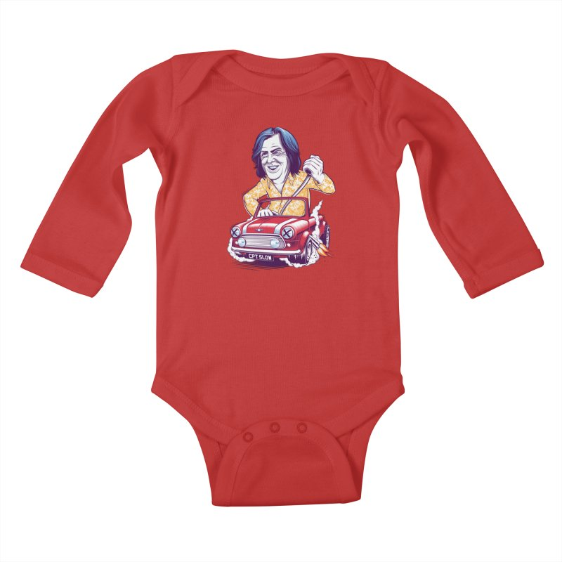 May Kids Baby Longsleeve Bodysuit by Leon's Artist Shop
