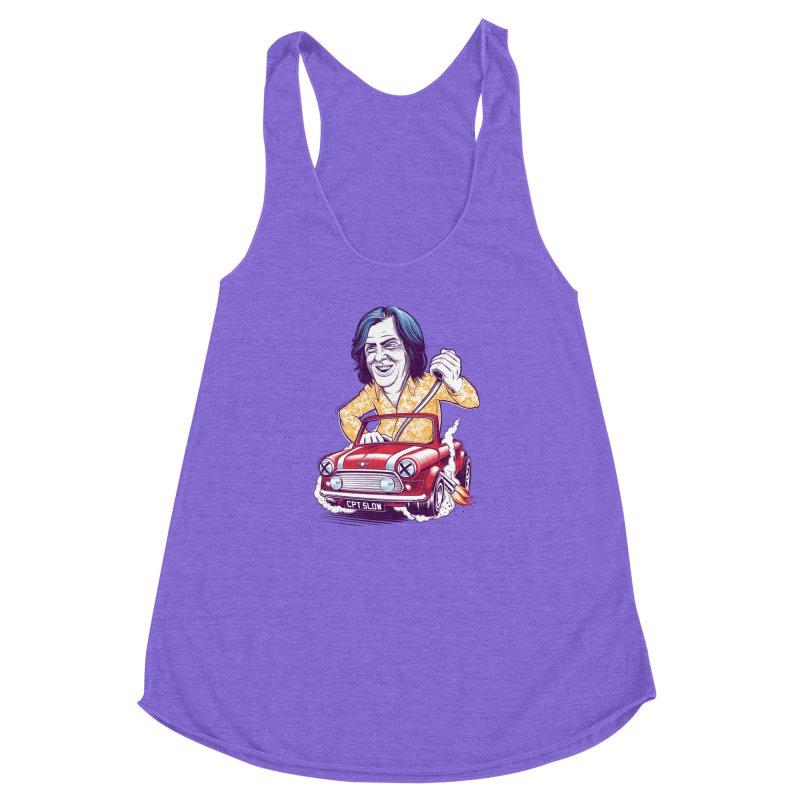 May Women's Racerback Triblend Tank by Leon's Artist Shop