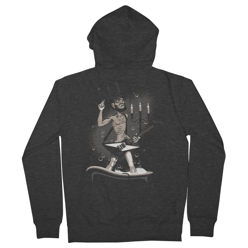 AbeLutions Men's French Terry Zip-Up Hoody by Leon's Artist Shop