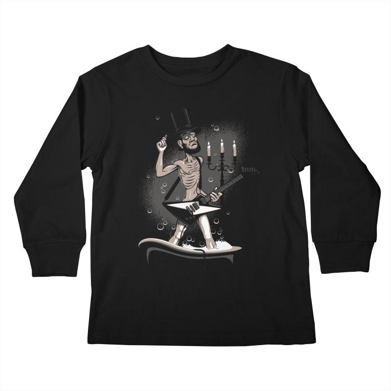 AbeLutions Kids Longsleeve T-Shirt by Leon's Artist Shop