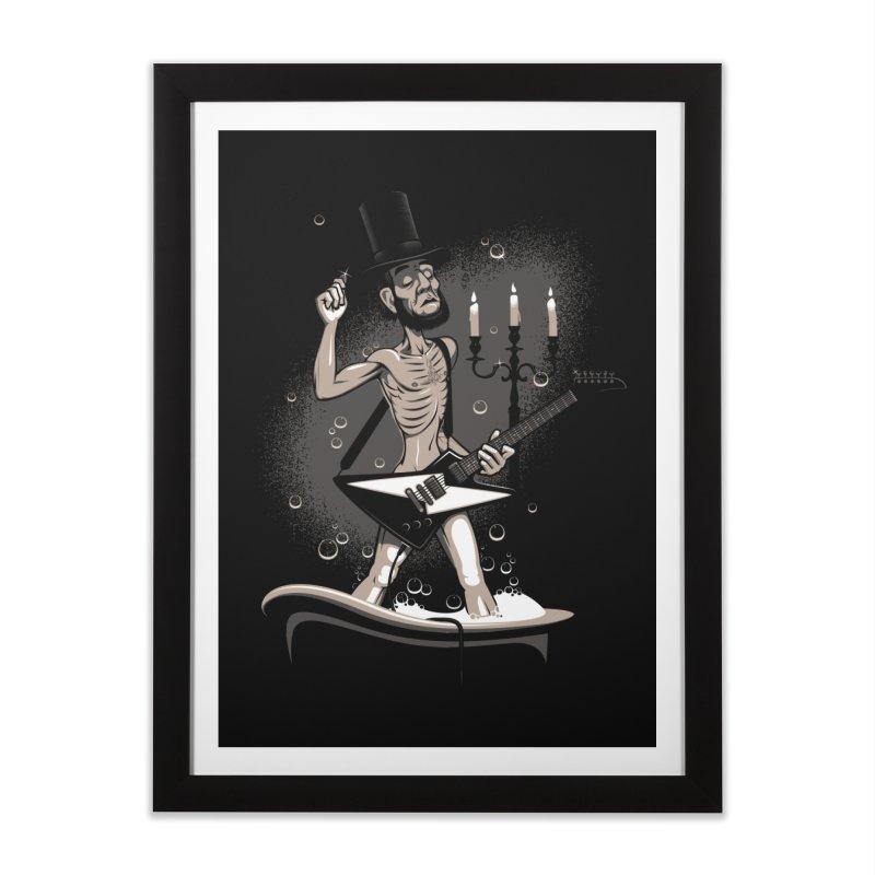 AbeLutions Home Framed Fine Art Print by Leon's Artist Shop