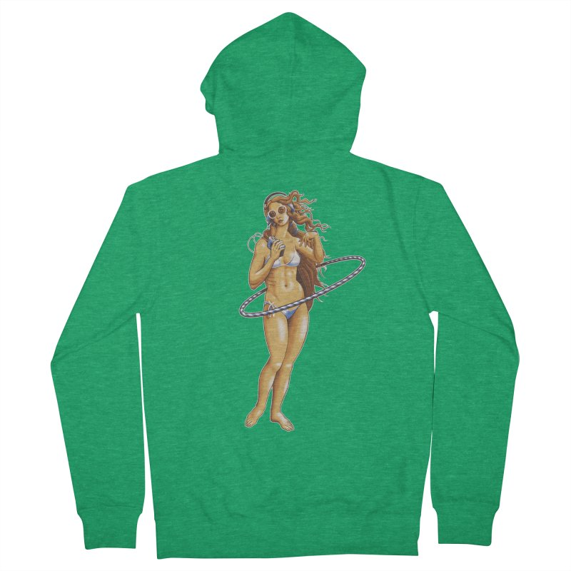 Summer Classic Women's French Terry Zip-Up Hoody by Leon's Artist Shop