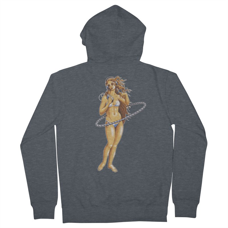 Summer Classic Women's Zip-Up Hoody by Leon's Artist Shop