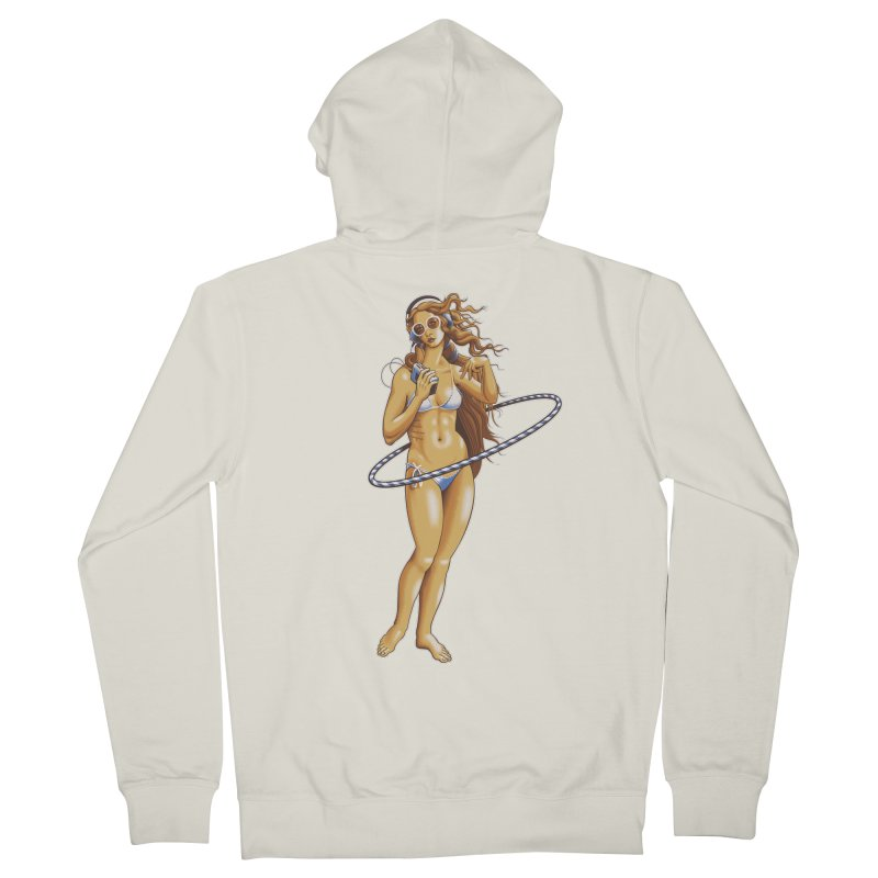 Summer Classic Men's French Terry Zip-Up Hoody by Leon's Artist Shop