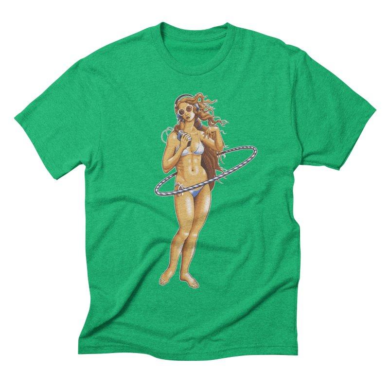 Summer Classic Men's Triblend T-shirt by Leon's Artist Shop