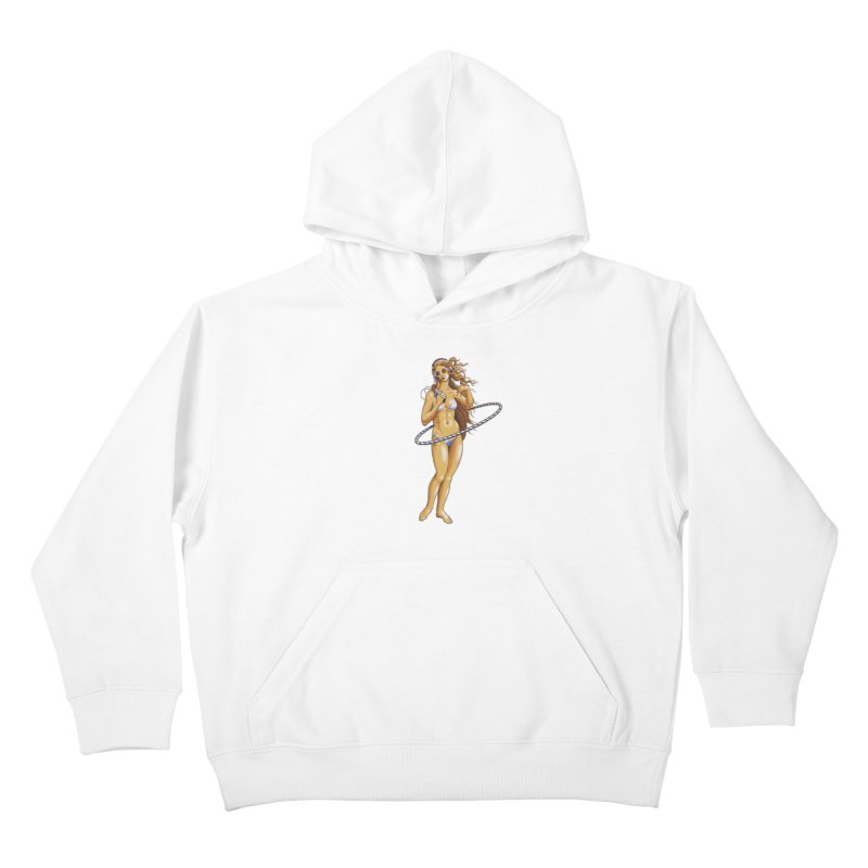 Summer Classic Kids Pullover Hoody by Leon's Artist Shop