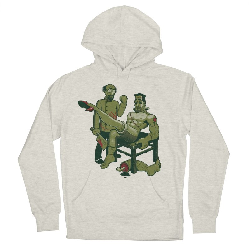 FrankenFine Men's Pullover Hoody by Leon's Artist Shop