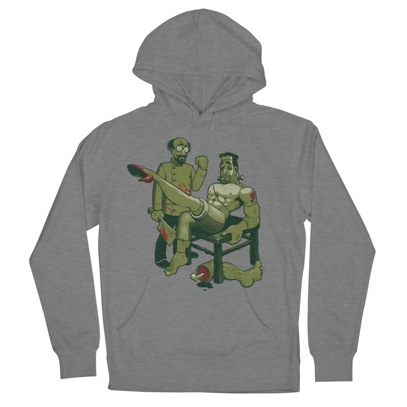 FrankenFine Women's French Terry Pullover Hoody by Leon's Artist Shop