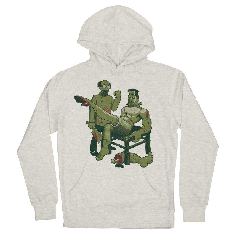 FrankenFine Men's Pullover Hoody by Leon's Artist Shop