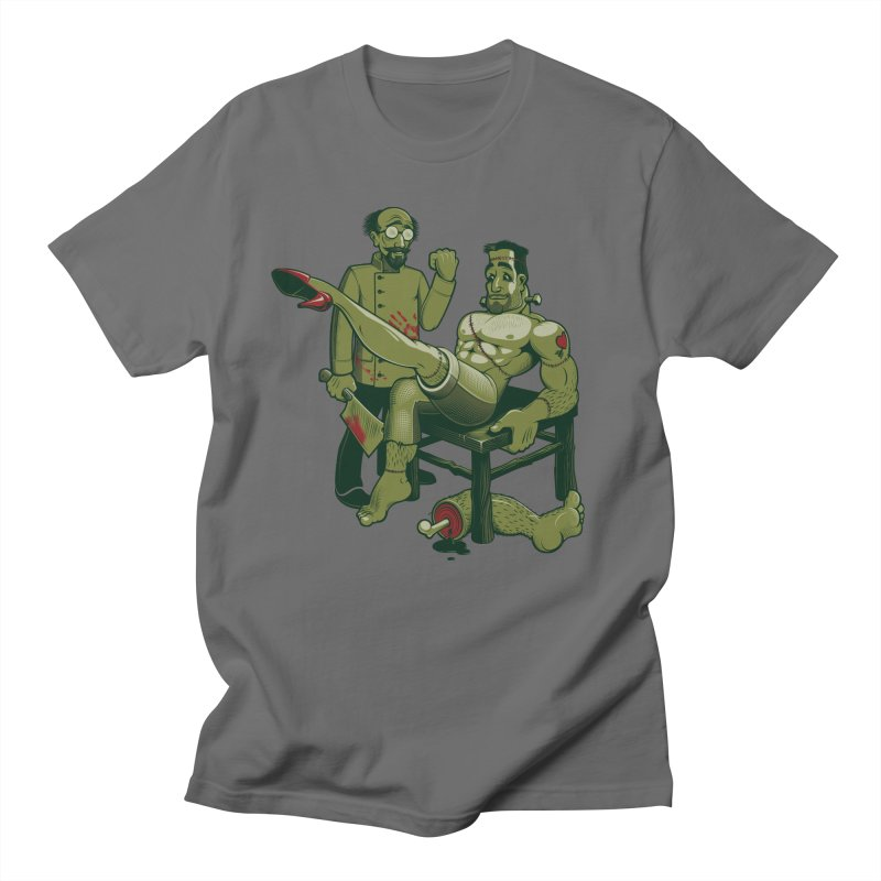 FrankenFine Men's T-shirt by Leon's Artist Shop