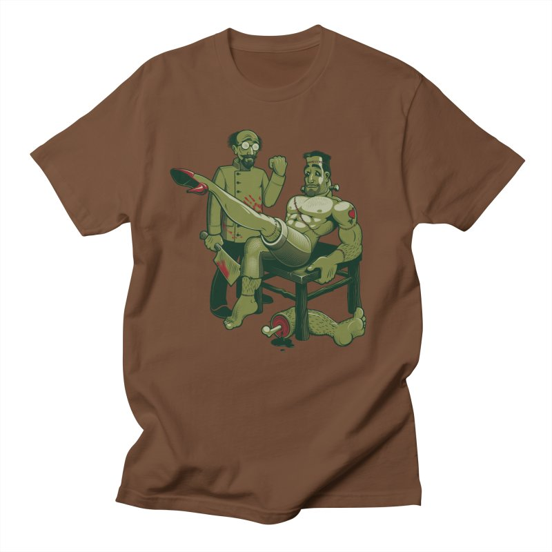 FrankenFine Men's Regular T-Shirt by Leon's Artist Shop