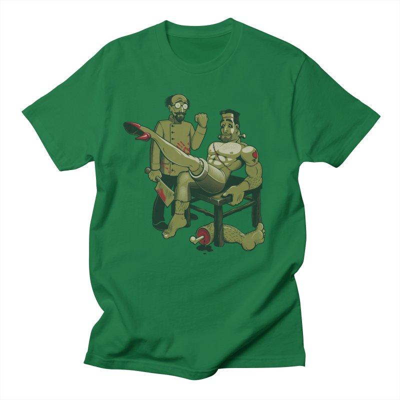 FrankenFine Men's Regular T-Shirt by Leon's Artist Shop