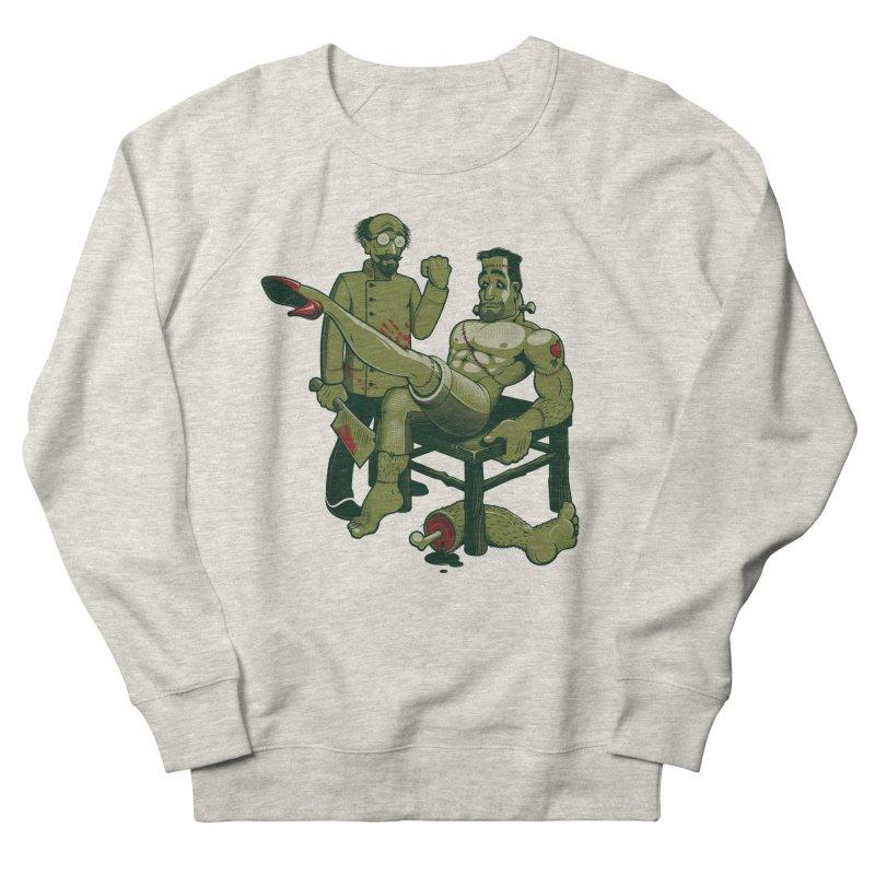 FrankenFine Women's French Terry Sweatshirt by Leon's Artist Shop