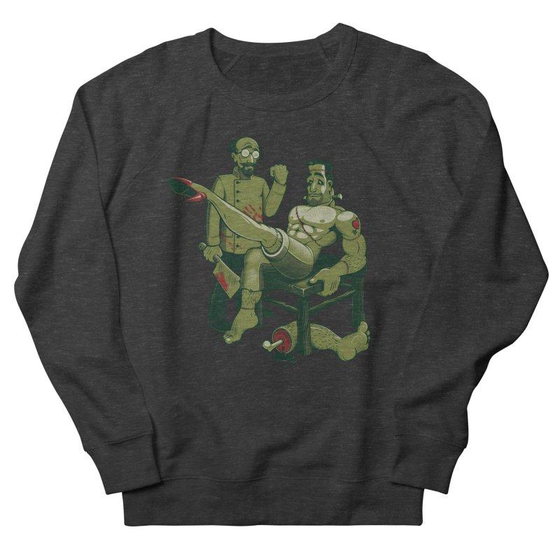 FrankenFine Men's Sweatshirt by Leon's Artist Shop